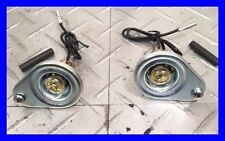 1967+1968 MUSTANG NEW REPRO UNDER DASH INTERIOR LAMP ASSEMBLY (pr)
