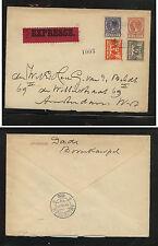 Netherlands uprated postal envelope express   1930        MS0612