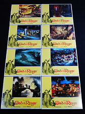 THE LORD OF THE RINGS 1978 * J.R.R. TOLKIEN * LOBBY CARD SET * C10 MINT UNUSED!!