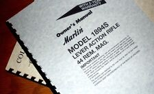 MARLIN 1894S 1894 S  Lever Action 44 REM MAGNUM Rifle OWNERS MANUAL