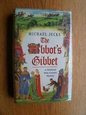 Michael Jecks The Abbot's Gibbet 1st ed UK SIGNED