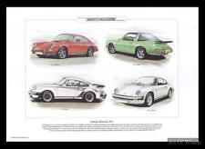 Porsche 911 Cars Carrera Tubo Targa Touring Art Print