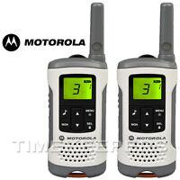 6Km Motorola TLKR T50 Walkie Talkie 2 Two Way PMR 446 Compact Radio Twin Set