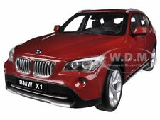 BMW X1 xDRIVE 28i (E84) VERMILLION RED 1/18 DIECAST MODEL CAR BY KYOSHO  08791