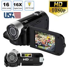 US 1080P HD Video Camera Camcorder Vlogging Digital Camera TFT LCD DV LED Vision