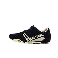 Diesel Solar Mens Fashion Sneakers India Ink Silver Bir Suede Size 12 New
