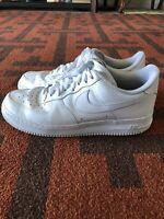 Men's Nike Air Force 1 07' Triple White Low Size 12.5