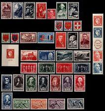 L'ANNÉE 1949 Complète, avec Bande, Neufs * = Cote 102 € / Lot Timbres France
