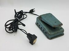 Blue Teal Mercury Electric 701 KNEE 702 FOOT Sewing Pedal 1A-115V USA Retro Sew