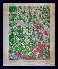 1960 USGS Topographical Map - Emsworth Quadrangle Pennsylvania - Pittsburgh Topo