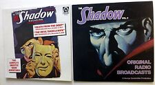 the SHADOW lot of 2 LPs Spoken Word Radio Broadcast Crime Drama  Lc338