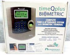 Acroprint Biometric TimeQplus TQ100 V2 Time and Attendance System Terminal
