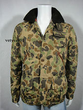 Polo RALPH LAUREN Military Hunting Anorak Camouflage Quilted Down Jacket size M