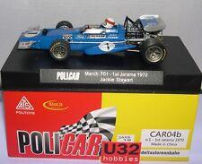 POLICAR CAR04B MARCH 701 F1 #1 1º JARAMA 1970 JACKIE STEWART   MB
