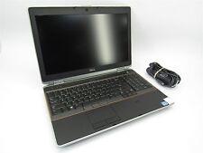 """Dell Latitude E6520 15.6"""" FHD Quad Core i7 2720QM 2.2GHz 8GB RAM 320GB HDD"""