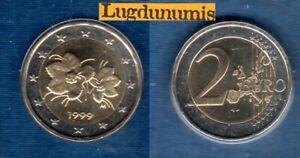 Finlande 1999 2 Euro BU FDC Provenant du BU 75000 Exemplaires Finland