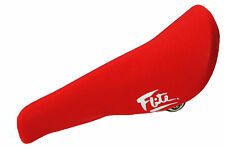 FLITE padded (neoprene) old school BMX seat cover - RED - NEW *MADE IN USA*