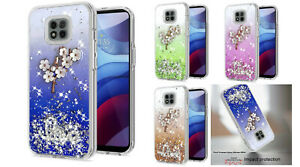 For Motorola Moto G Power XT2117 (2021) Floral Ornament Case Phone Cover