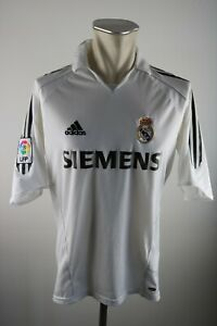 Real Madrid Trikot Gr. M 2005-06 #7 Raul Adidas jersey Spanien Siemens Shirt