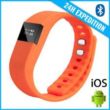Original TW64 Smart Band Watch Sport Montre Horloge Bluetooth Android iOS Orange