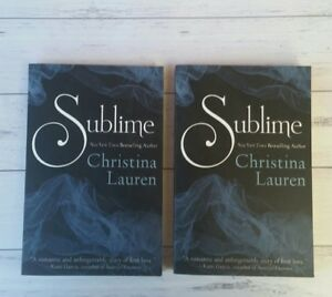 Like New - Sublime by Christina Lauren 9781481430371 (Paperback, 2014)
