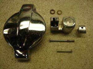 74-76 Honda CB550 FUEL TANK GAS CAP OEM CB550K CB500 CHROME LOCKING CB750 CB360