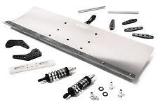 C27056SILVER Integy Alloy Snowplow Kit for Traxxas 1/10 Stampede 4X4 Slash 4X4