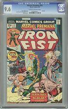 Marvel Premiere - Iron Fist #22 NM+ CGC 9.6 C/OW