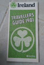 Vintage Ireland Travellers Visitor's Guide 1981 Maps Books Tourist