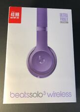 Beats by Dr Dre Solo 3 Wireless Headphone [ Ultra Violet Special Edition ] NEW