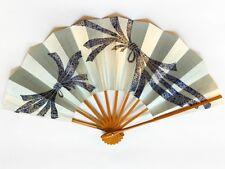 Vintage Japanese Geisha Odori 'Maiogi' FoldingDanceFan from Kyoto: Design J55