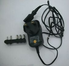 AC/DC MAINS EU POWER ADAPTOR/SUPPLY 250MA/0.25A 3V/4.5V/5V/6V/7.5V/9V/12V USB (J