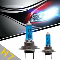 H7 100w 8500k Xenon Hid Super White Effect Look Headlight Lamps Light 12v Bulbs