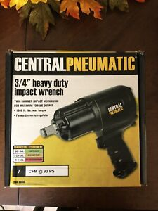 3/4 Inch Drive Air Impact Wrench Heavy Duty Twin Hammer Auto Pneumatic Tool NEW!