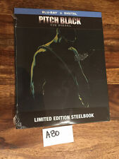 Pitch Black Limited Edition Steelbook Blu-ray Vin Diesel [A80]