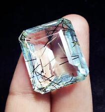Certified Loose Gemstone Rutilated Quartz Gems 41.20 Ct