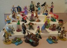 27 Disney Figures-Princes-Princesse s-Fairy Godmothers-Pirates Characters Lot