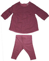 New Baby Girls Pink NEXT Dress / Top & Leggings Age 6-9 3-6 Up to 1 3 Month