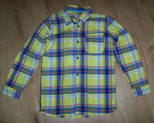 Marks and Spencer Boys' Checked 100% Cotton Long Sleeve Sleeve Shirts (2-16 Years)