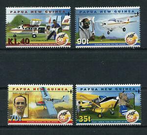 s8539) PAPUA & NEW GUINEA MNH** Nuovi** 2001, M.A.F. 50th anniversary 4v
