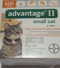 Bayer Advantage Ii For Small Cats, Orange 5-9lbs 4Pk Usa version Epa Regulated