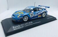Minichamps 1/43 Porsche 911 Gt3 Rsr Seikel 24H Le Mans 2007 400076771