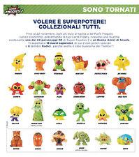 Super Foodies 2, Esselunga: personaggi 3D a scelta