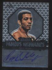 2011 Leaf JOSE ALDO Famous Nicknames Scarface auto autograph MMA