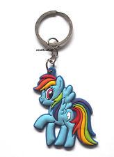 New My Little Pony Rainbow Dash Keyring Bagcharm Keychain Zip puller Rubber PVC