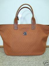 NWT Dooney & Bourke Brooklawn Pumpkin Weekender Carry On Bag Tote Signature