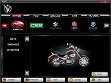 Motorrad Diagnosegerät 7 in 1 Multi Diagnose Honda, YAMAHA, SYM, KYMCO, HTF, PGO