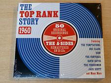 MINT !! Top Rank Story 1960/2012 2x CD Album/Temptations/Dee Clark/Ventures/Dion