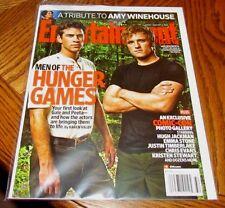 HUNGER GAMES Liam Hemsworth Josh ENTERTAINMENT WEEKLY Magazine #1166 August 2011