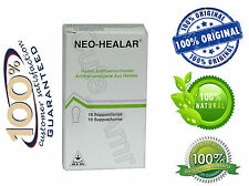 Neo Healar 100% Natural & Proven Hemorrhoids Cure & Treatment Suppositories